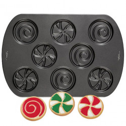 EASY DECORATE HOLIDAY COOKIE PAN