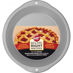 "RECIPE RIGHT 9"" PIE PAN"
