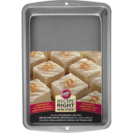 RECIPE RIGHT 13 X 9 CAKE PAN
