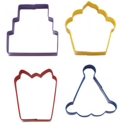 PARTY COOKIE CUTTER SET