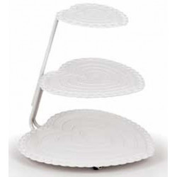 HEART FLOATING TIERS CAKE STAND SET