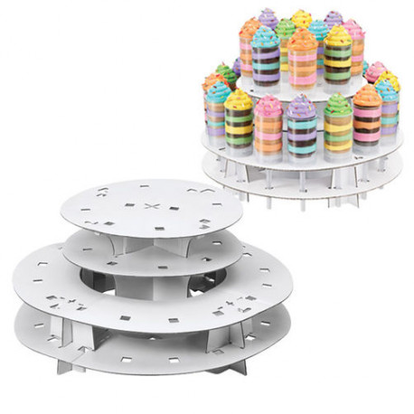 TREAT POPS 2-TIER STAND