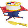 PRIMARY COLORS CAKE STAND KIT