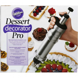 STAINLESS STEEL DESSERT DECORATOR PRO