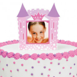PRINCESS PHOTO CAKE TOPPER