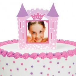 PRINCESS PHOTO CAKE TOPPER