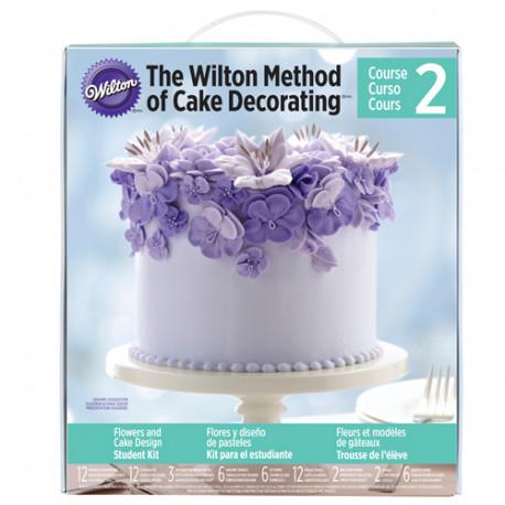 Wilton Method®- Student Kit-2 Flowers & Cake Design Student Kit