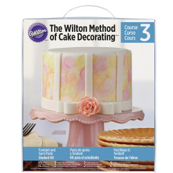 Wilton Method®Gum Paste & Fondant Student Kit- Fondant és Gum Paste tanfolyam