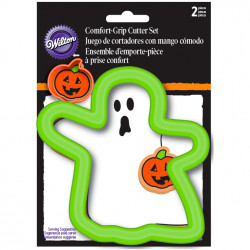 Wilton Comfort Grip Cutter Ghost with Pumpkin