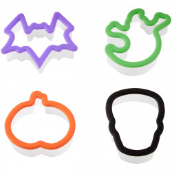 Grippy Bagged Cutter Set Halloween Set/4