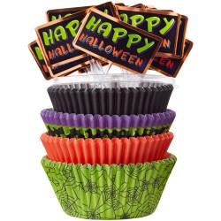 Wilton Cupcake Combo Jack N Ghouls pk/125