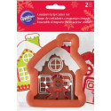 Wilton Gingerbread House & Boy Cookie Cutter