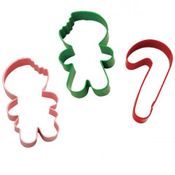 Frosted Fun 3pc. Cookie Cutter Set