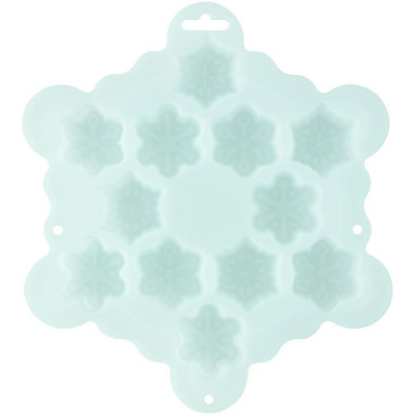 SNOWFLAKE BITE-SIZE SILICONE TREAT MOLD