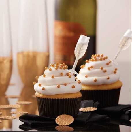 CHAMPAGNE SHOT TOPS FLAVOR INFUSERS & CUPCAKE LINERS