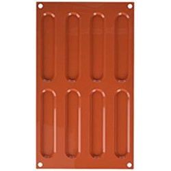 TERRACOTTA SET 2 SILICONE MOULD NR.8 ECLAIRS