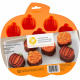 SILICONE BITE-SIZE PUMPKIN TREAT MOLD, 12-CAVITY