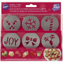 FIT RIGHT HOLIDAY COOKIE DISC SET