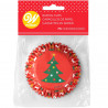 WILTON BAKING CUPS TREE & ORNAMENTS PK/75