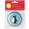 SNOWMAN AND FRIENDS CUPCAKE LINERS, 75-COUNT