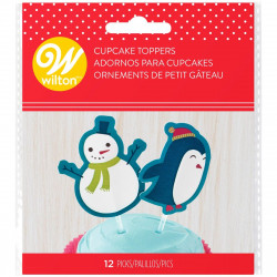 WILTON FUN PIX SNOWMAN & PENGUIN