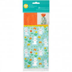 WILTON TREAT BAGS BUNNY PK/20