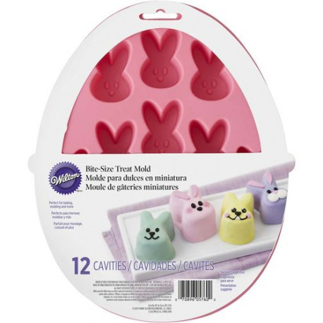 EASTER BUNNY SILICONE TREAT MOLD