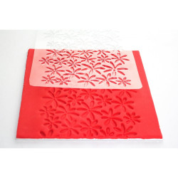 Floral Impression Mat (one size)