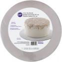 WILTON CAKE BOARD SILVER GLITTER PK/3