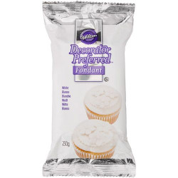 WILTON DECORATOR PREFERRED FONDANT WHITE -250G