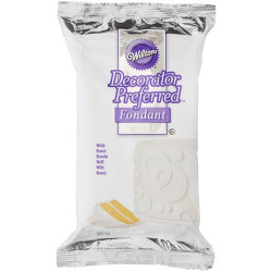 WILTON DECORATOR PREFERRED FONDANT WHITE -500G-