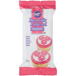 WILTON DECORATOR PREFERRED FONDANT MAGENTA -250G-