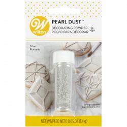 Wilton Silver Pearl Dust, 0.5 oz.