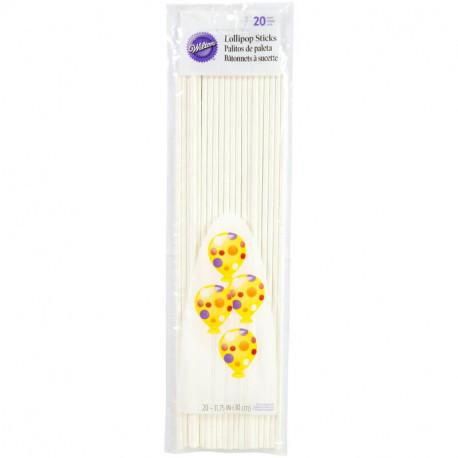 Lollipop Sticks, 20-Count