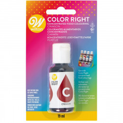 WILTON COLOR RIGHT FOOD COLOR -CRIMSON RED- 19ML