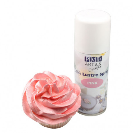 Pink Edible Lustre Spray 100ml