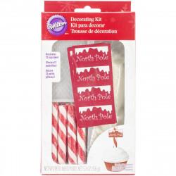 Wilton Cupcake Decorating Kit North Pole pk/12