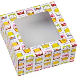 CUPCAKE BOXES 3PC