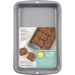 RECIPE RIGHT® BISCUIT/BROWNIE PAN 27,5 X 17,5CM