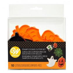 Cookie Stamp Set Halloween Set/10