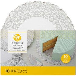 10 IN (25.4 CM) SHOW 'N SERVE CIRCLES 10 COUNT