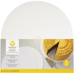 14 IN (35.5CM) CAKE CIRCLES 6 COUNT
