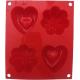 SCARLET RED HALF CADEAUX-HSF02