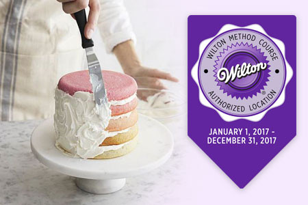 Cake and desert decorating courses after the Wilton method from USA