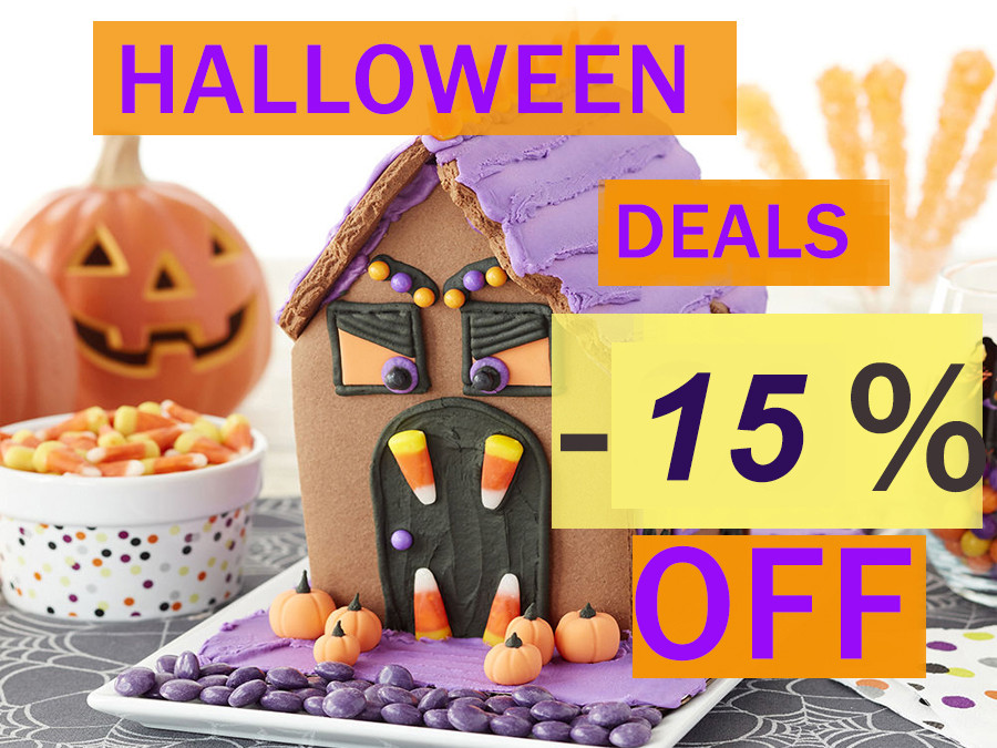 Halloween deals! Click here!