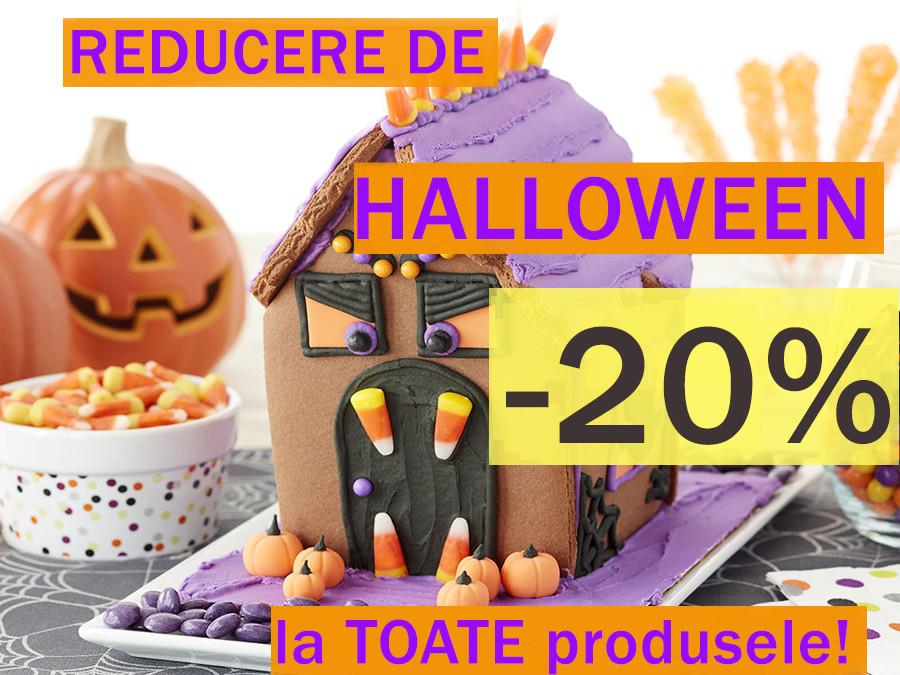 *20% la toate produsele de Halloween!